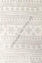 Новогодняя декоративная ткань COLD Silver